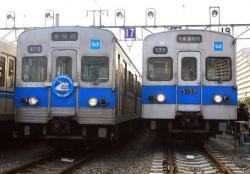 深川車両基地にて(2007.1.27)