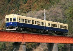 千頭~崎平間にて(2007.2.25)