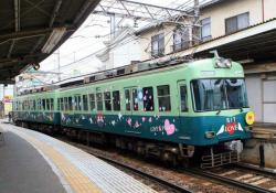 京阪膳所にて(2007.3.3)