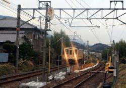 王寺方面から進入(2007.3.10)