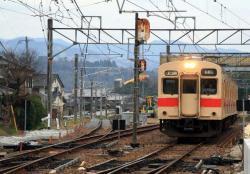 北宇智を発車(2007.3.10)