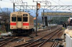 発車していく和歌山行き(2007.3.10)