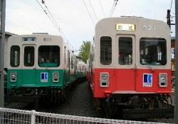 今橋検車区(2007.10.14)