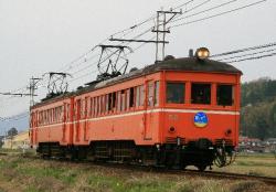 嵯峨駅前にて(2007.3.18)