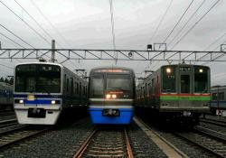 西山公園~西鯖江間にて(2006.10.14)