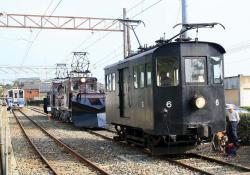 三国港駅にて(2006.10.14)