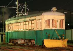 米島口車庫にて(2006.10.14)