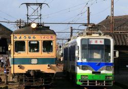 西武生車庫にて(2006.10.15)