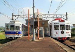伊太祁曽駅にて(2006.10.21)