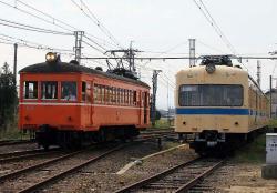川跡駅にて(2006.10.22)