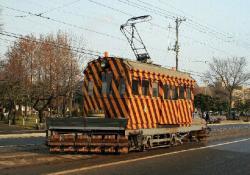 市民会館前~駒場車庫前間(2007.12.2)