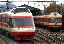 須坂駅にて(2006.11.18)