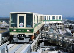 神戸空港駅にて