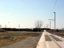 トランスロール試験線