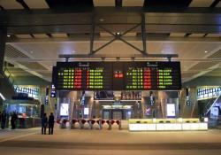 高鐵台中駅改札口(2006.12.30)
