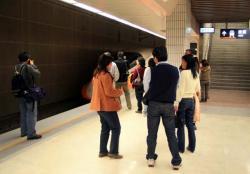 板橋駅にて(2006.12.30)