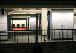 完成を急ぐ高鐵台北駅(2006.12.31)