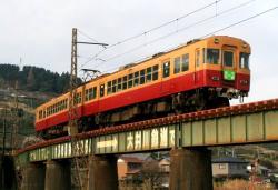 金谷~新金谷間にて(2007.2.25)