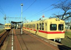 西鉄古賀にて(2007.3.11)