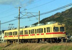 宮地岳~西鉄福間間にて(2007.3.11)