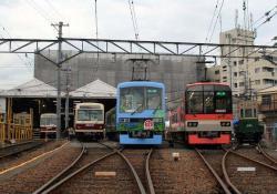 修学院車庫にて(2006.10.28)