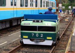 錦織車庫にて(2006.10.29)