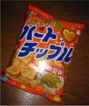 納豆味のハートチップ??