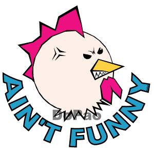 Ain't Funny スラング チキン オリジナル キャラクター