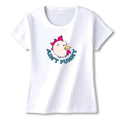 Ain't Funny スラング チキン オリジナル キャラクター Tシャツ