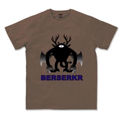 BERSERKR バーサーカー 北欧神話 悪魔 戦士ベルセルク オリジナル キャラクター Tシャツ