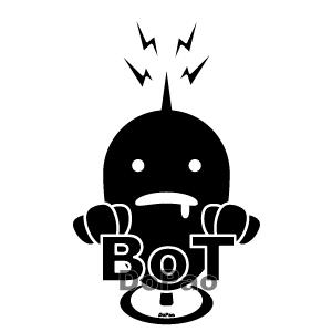 Bot ボット ウイルス ワーム インターネット パソコン オリジナルデザイン