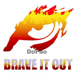 Brave It Out 信念 イーグル ファイアー オリジナル デザイン