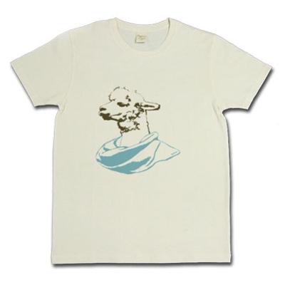 Llama ラマ 旅人 ターバン オリジナル デザイン Tシャツ