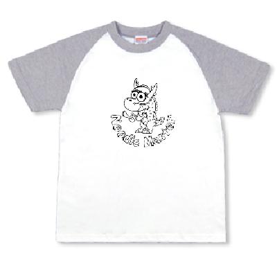 Noodle Master ドラゴン ラーメン オリジナル キャラクター Tシャツ