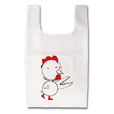 Scissors Chicken ハサミとチキン オリジナルデザイン Tシャツ