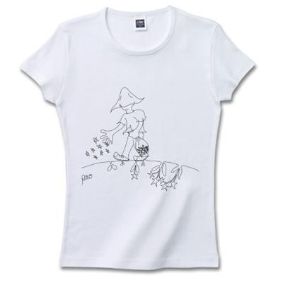 Stars Seed 星の種を蒔く人 オリジナルデザイン Tシャツ