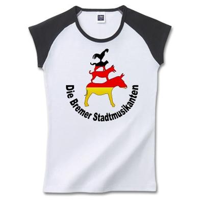 Town Musicians of Bremen ブレーメンの音楽隊 オリジナルデザイン Tシャツ