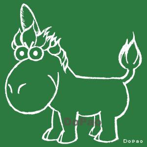 Unicorn ユニコーン 空想上動物 オリジナル キャラクター