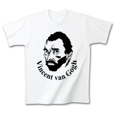 Gogh フィンセント・ファン・ゴッホ 肖像画 オリジナルデザイン Tシャツ