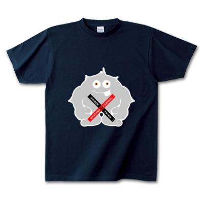 Yeti イエティ UMA ヒマラヤ山脈 オリジナル キャラクター デザイン Tシャツ