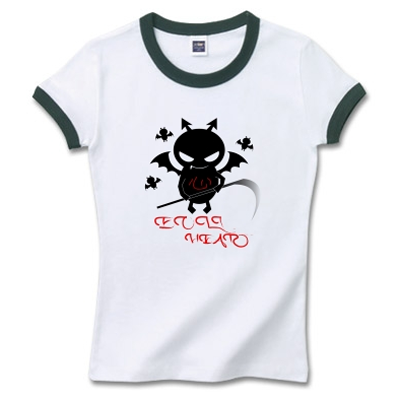 Evil Kokoro 悪魔の心 オリジナルデザイン Tシャツ