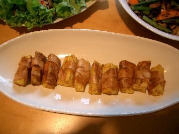 長芋のカレーグリル