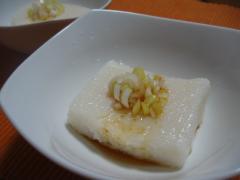 長芋の豆腐もどき
