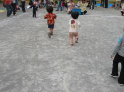 幼稚園運動会(かけっこ)
