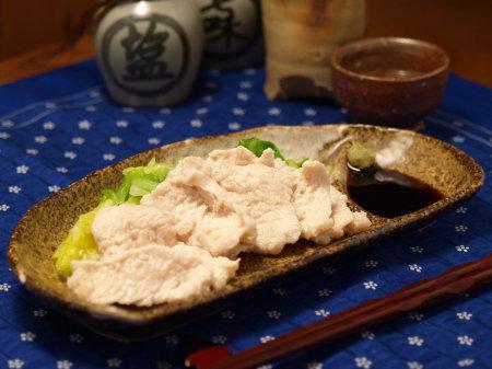 鶏胸肉くずうち刺身風21