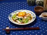 春キャベツと鶏胸肉のユッケ風3
