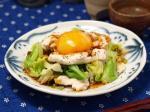 春キャベツと鶏胸肉のユッケ風4