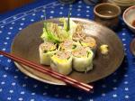 納豆蕎麦生春巻き7