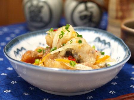生姜風味の南蛮漬け1