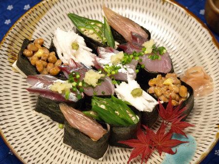 豆腐軍艦寿司10